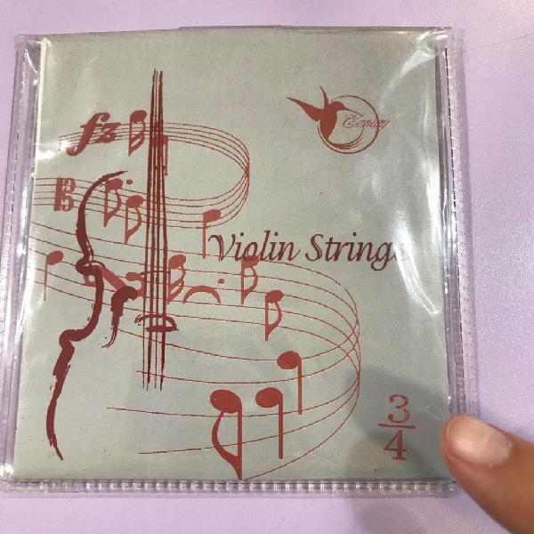 Cuerdas violín pequeño 3/4, 1/2 y 1/4 nuevo