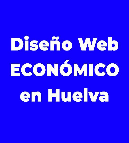 Diseño web en huelva