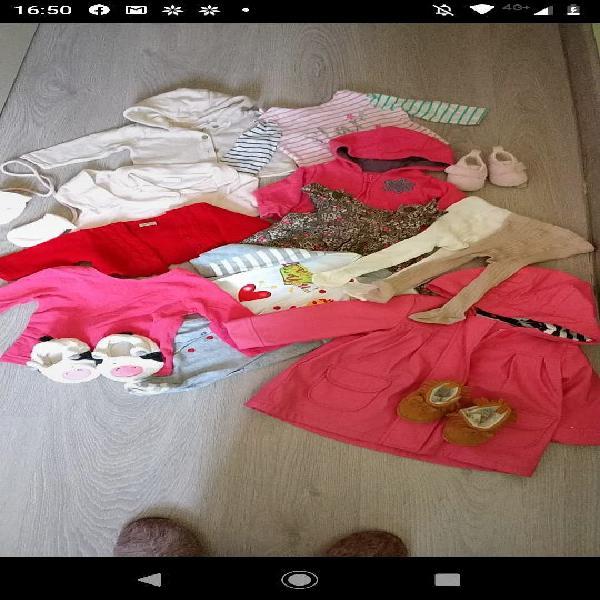 Lote de ropa de bebé 3-6 meses. 15 prendas