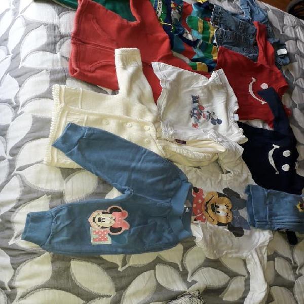 Lote ropa bebé 3 a 12 meses