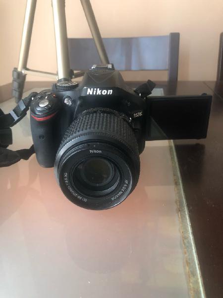 Nikon d5200 + nikon d40 con objetivos