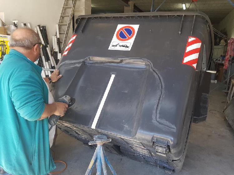 Reparación materiales plásticos por soldadura