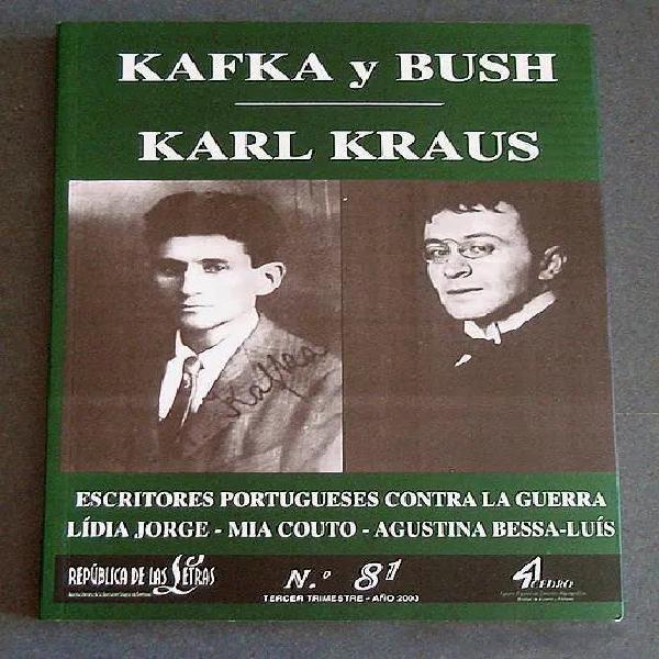 República de las letras nº 81: kafka y bush