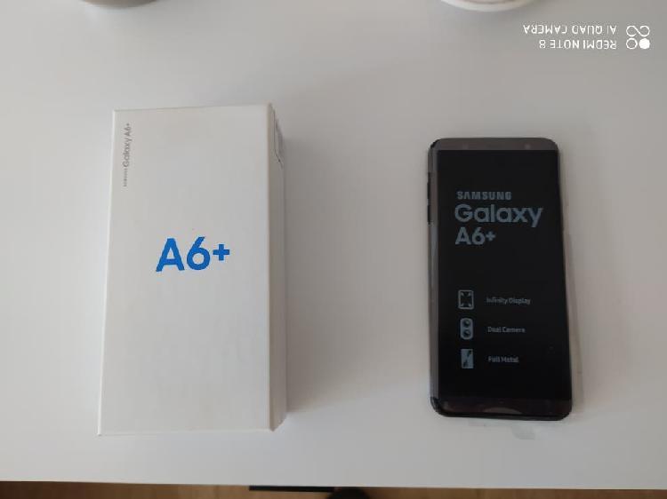 Samsung galaxy a6+ libre