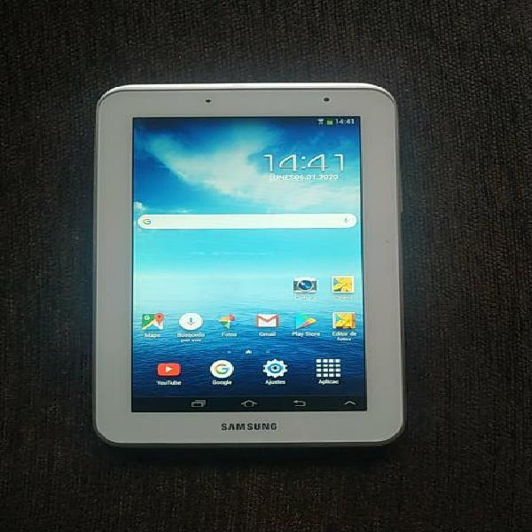 Samsung galaxy tab 2 tablet con funda y cargador