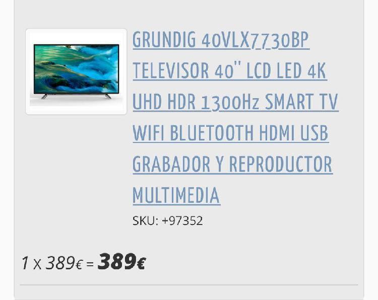 Televisor grundig 40vlx7730bp