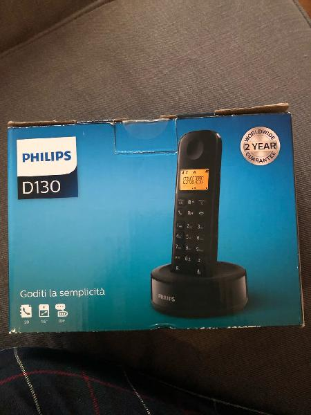 Teléfono inalámbrico philips d130