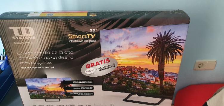 "Tv hd system smart tv 32"", wifi, 3 hdmi...."