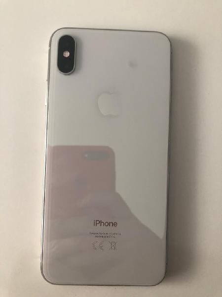 Vendo o cambio iphone xs max 64gb silver