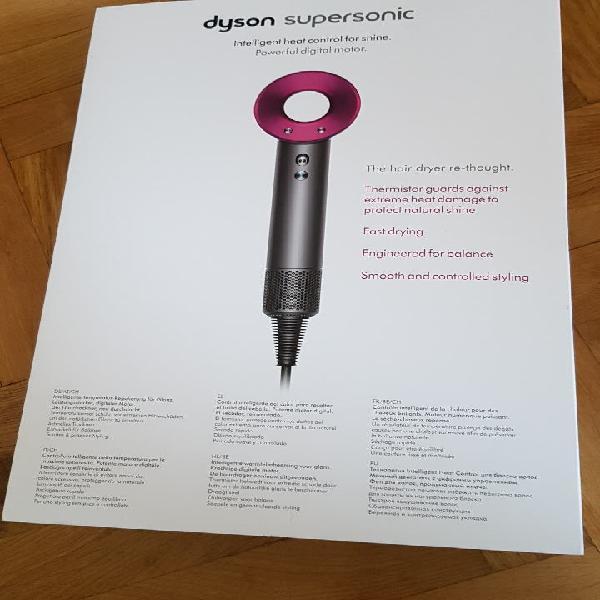 Caja secador dyson supersonic