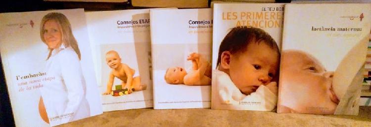 Colección de libros para mamás primerizas