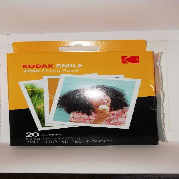 Papel fotográfico kodak smile classic