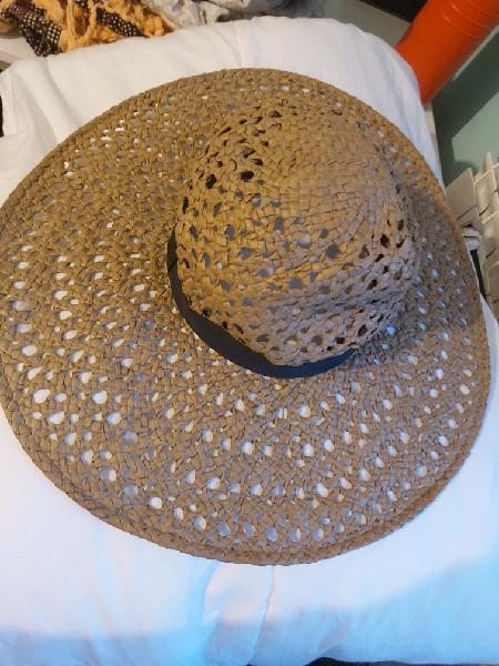 Sombrero playa ala ancha