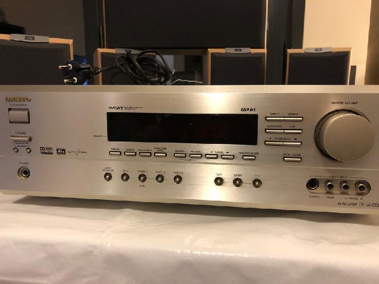 Amplificador onkyo 5.1/altavoces jbl scs178