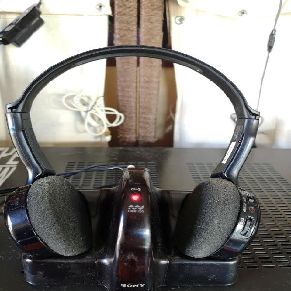 Auriculares inalámbricos marca sony para hifi y tv