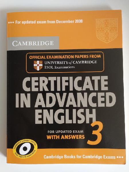Cae c1 libro oficial cambridge *4 exámenes reales*