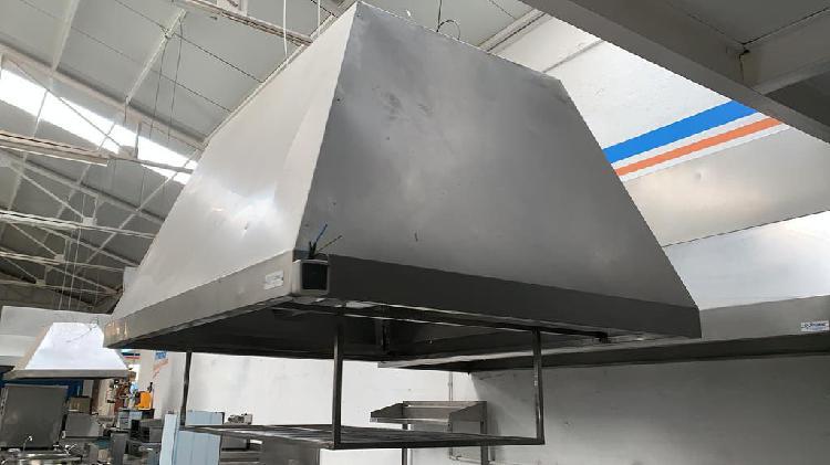 Campana central 2000 x 1500mm sin filtro
