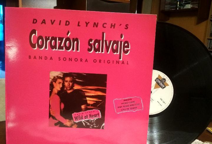 Corazón salvaje - david lynch's - banda sonora original lp