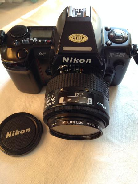 Camara nikon f 801 + nikon af nikkor 35-70 mm