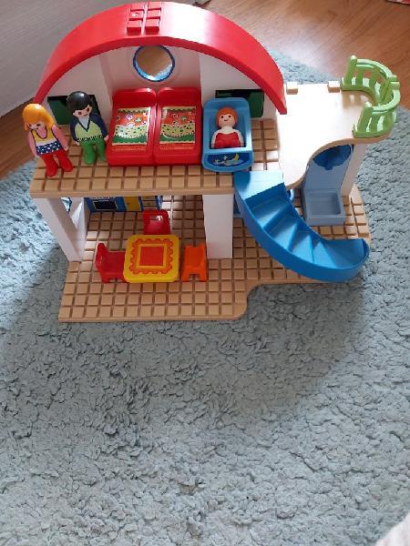 Casa moderna playmobil 123