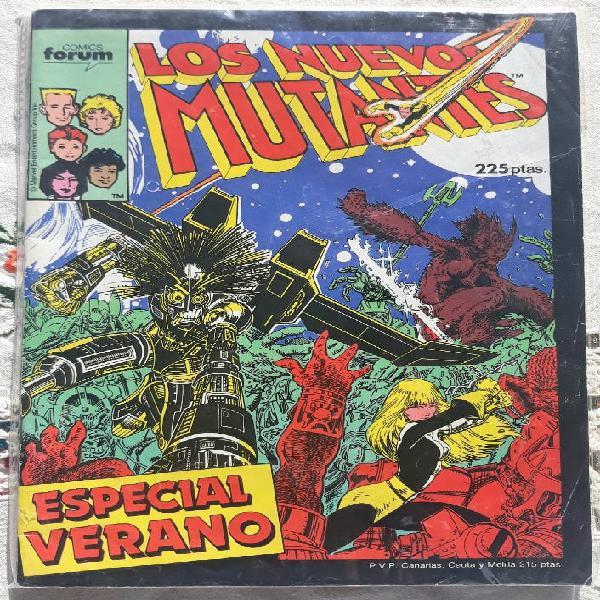 Comic los nuevos mutantes especial verano