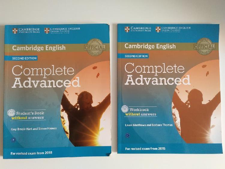 Complete advanced. cambridge