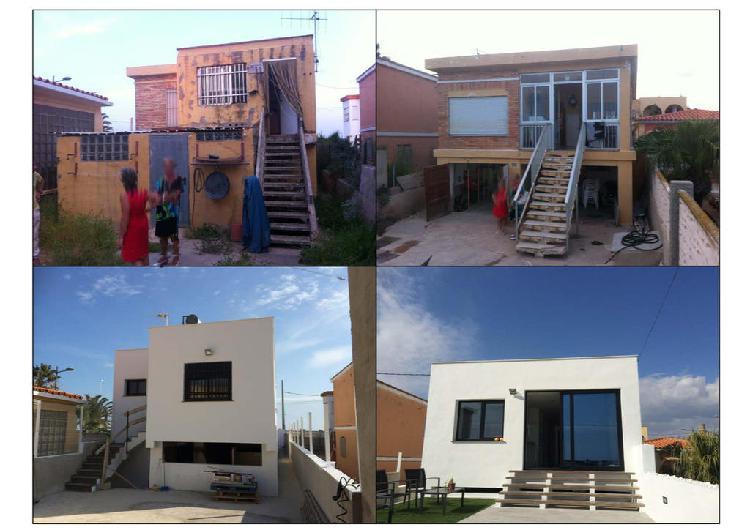 Construcción, reformas interiores y exteriores.