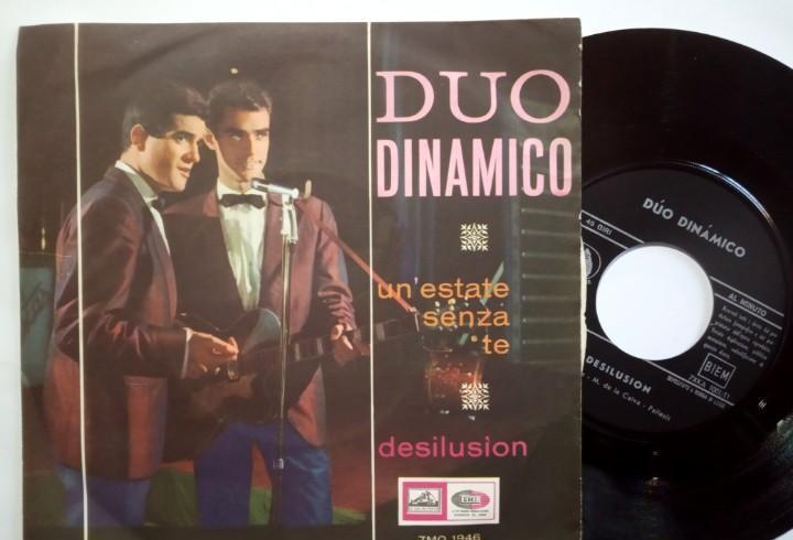 Duo dinamico - cantando en italiano un estate senza te /