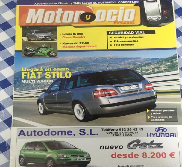 Dos revistas motor y ocio 2002