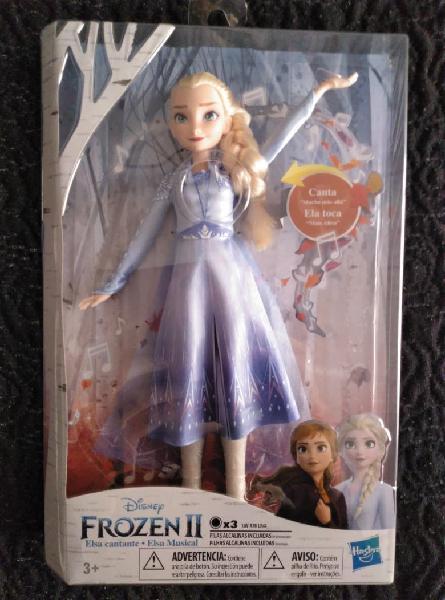 Elsa frozzen 2 muñeca cantarina