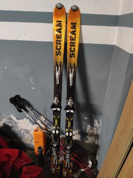 Esquís salomon scream 170cm