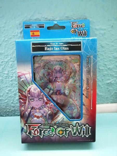 Force of will mazo inicio reiya-bajo las olas(agua