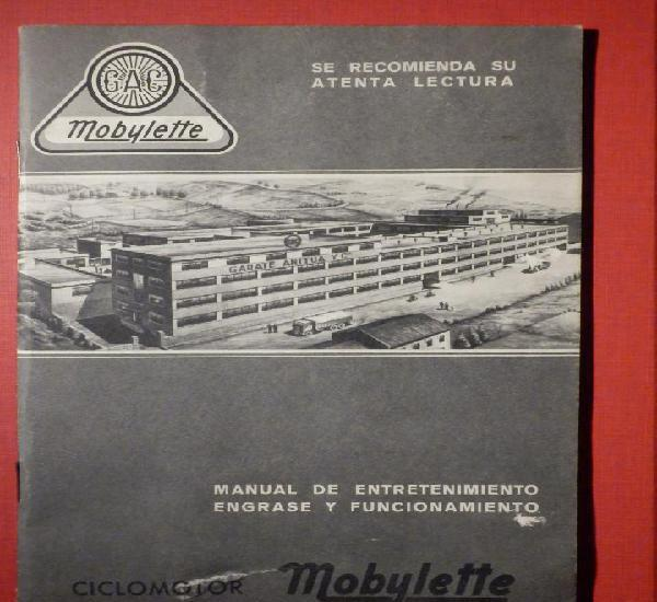 Gac - mobylette manual ciclomotor engrase y funcionamiento -
