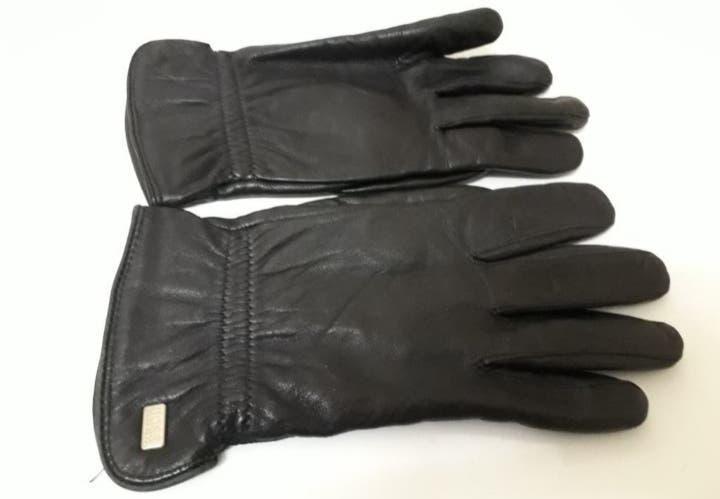 Hugo boss guantes de piel originales