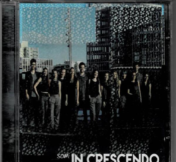 In crescendo - son / cd album de 2015 rf-3792, buen estado