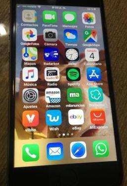 Iphone 6s. 64gb libre perfecto estado gris
