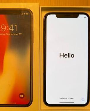 Iphone x 256 gb negro