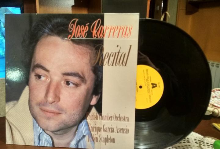 Jose carreras - recital - lp - dial discos 1988 spain