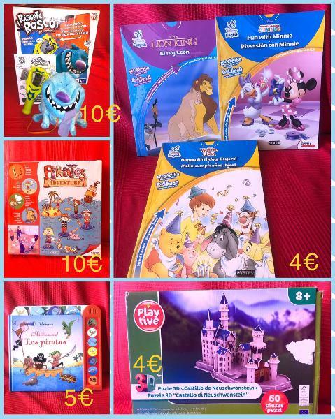 Juegos y libros infantiles