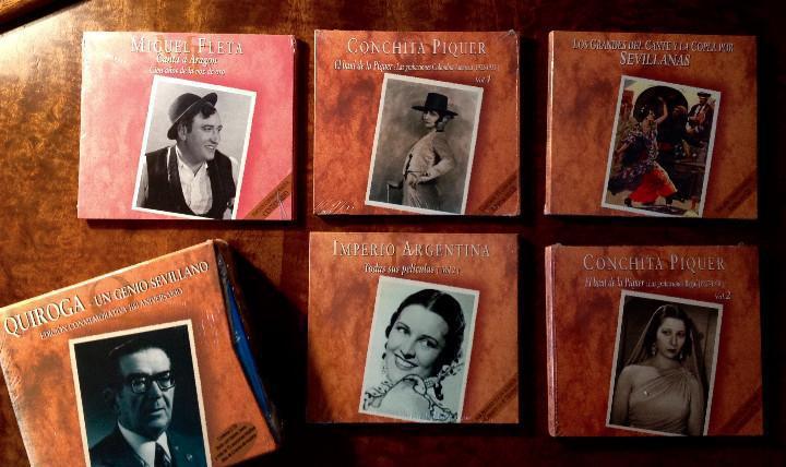 Lote 10 cds flamenco, canción española, cuplé...