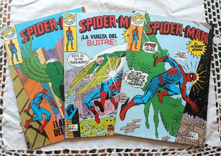Lote 3 comics spiderman bruguera