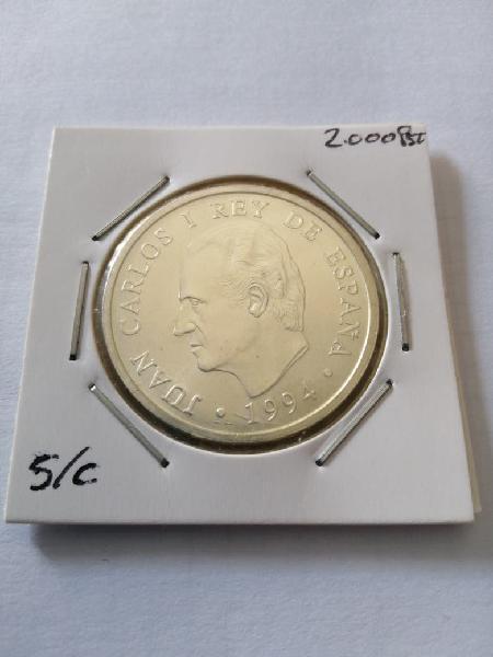 Moneda de plata año 1994