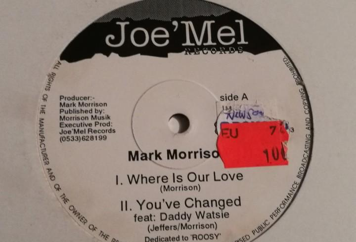 Mark morrison - where is our love - 1993