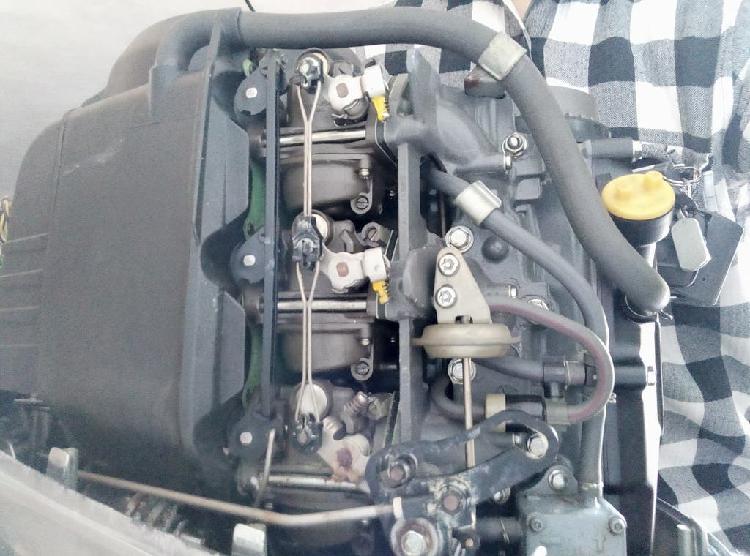 Motor fueraborda honda bf15 perfecto estado