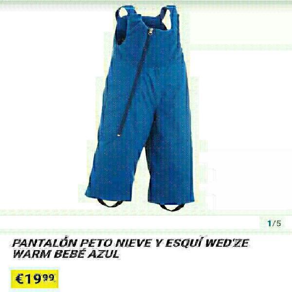 Pantalon ski peto t- 2 años