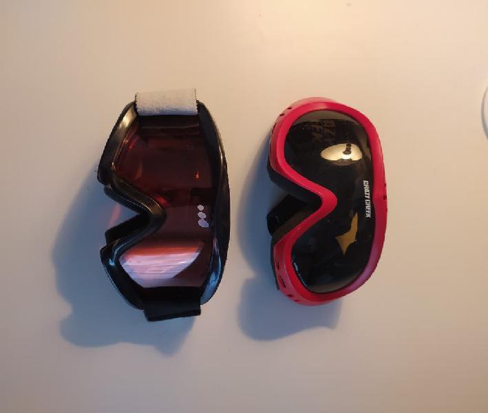 Pack gafas de esquí junior