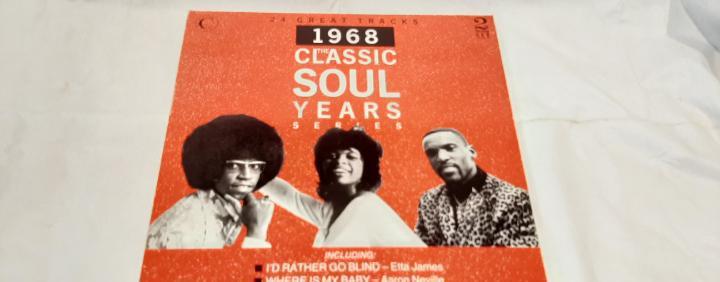 Recopilatorio -the classic soul years 1968- (1989) 2 x lp