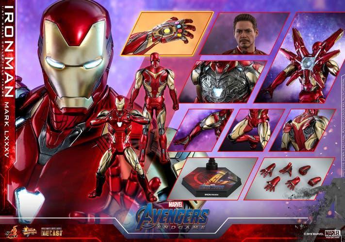 Reserva iron man mark lxxxv 1/6 hot toys endgame