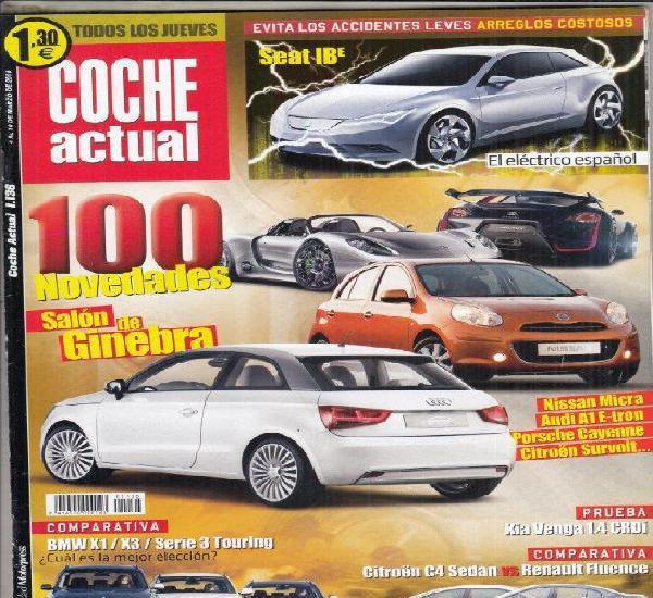 Revista coche actual nº 1136 año 2010. pru: kia venga 1.4