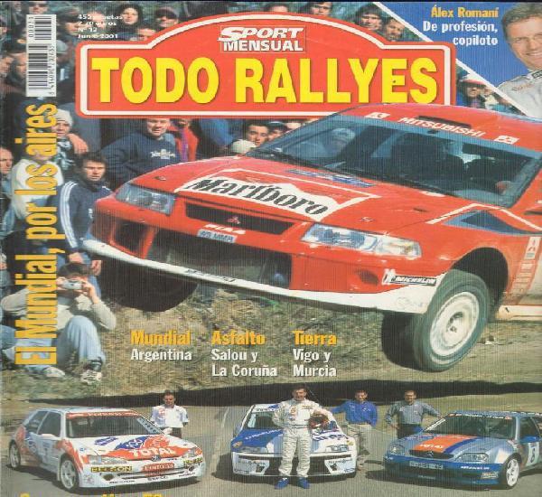 Revista todo rallyes nº12 junio 2001